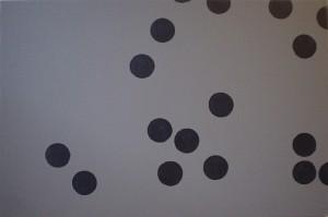 Centrifugal Equilibrium 2, x3, acrylic on canvas