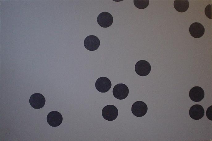 Centrifugal Equilibrium 3x4 Acrylic on canvas